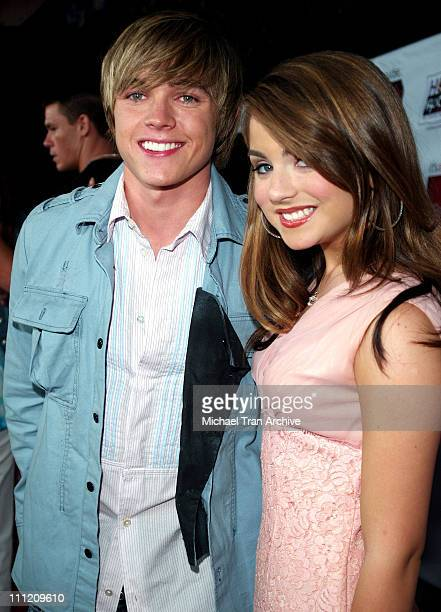Jesse McCartney and JoJo during Young Hollywood Says Hope Rocks Concert to Benefit City of Hope Arrivals at Key Club in Los Angeles California United...