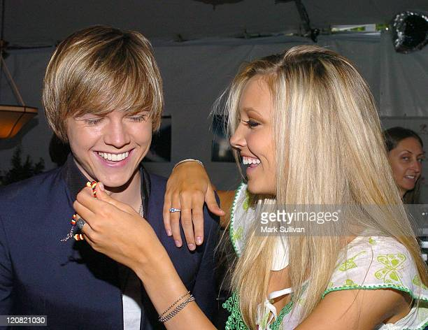Jesse McCartney and Katie Cassidy at My Scene Goes Hollywood Celebrity Retreat produced by Backstage Creations