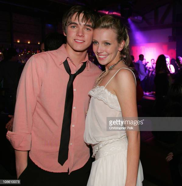 Jesse McCartney and Katie Cassidy during Teen People Celebrates its Artists of the Year issue - Inside at Element in Hollywood, California, United...