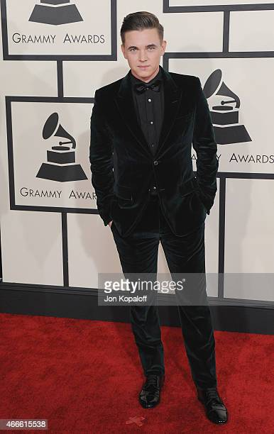 Jesse McCartney arrives at the 57th GRAMMY Awards at Staples Center on February 8 2015 in Los Angeles California