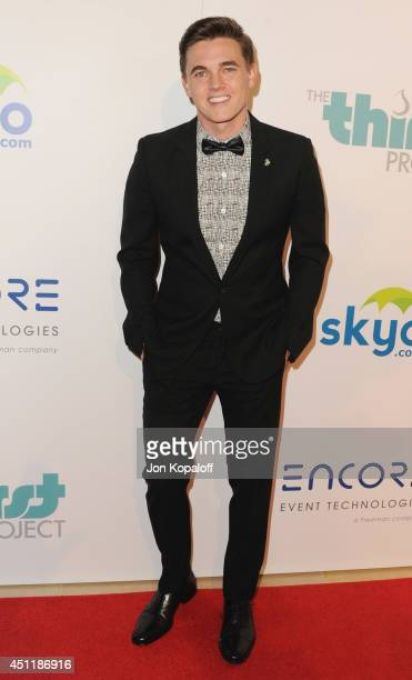 Jesse McCartney arrives at the 5th Annual Thirst Gala at The Beverly Hilton Hotel on June 24 2014 in Beverly Hills California