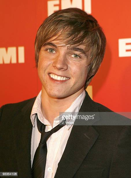 Jesse McCartney at the EMI PostGRAMMY Party