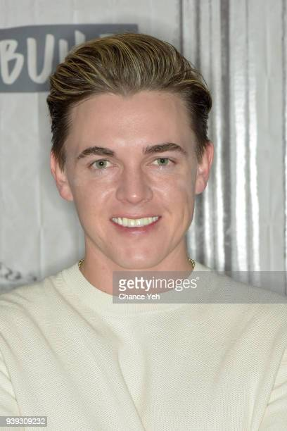 """Jesse McCartney attends Build series to discuss """"Better With You"""" at Build Studio on March 28, 2018 in New York City."""