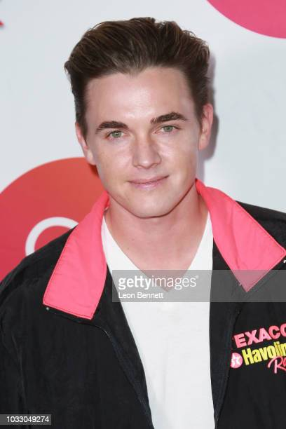 Jesse McCartney attends Loop Now Technologies And Two Bit Circus Celebrate The Launch Of Firework Mobile App at Two Bit Circus on September 13 2018...