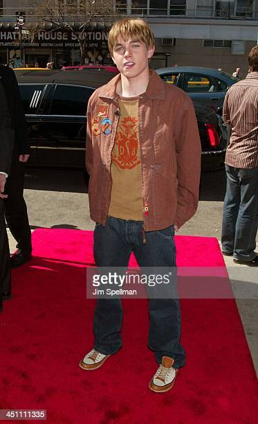 Jesse McCartney during Ella Enchanted New York Premiere Outside Arrivals at Clearview Beekman Theatre in New York City New York United States