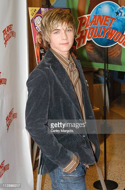 """Jesse McCartney during Jesse McCartney Celebrates the Release of his New CD """"Beautiful Soul"""" - Arrivals and Performance at Planet Hollywood Times..."""