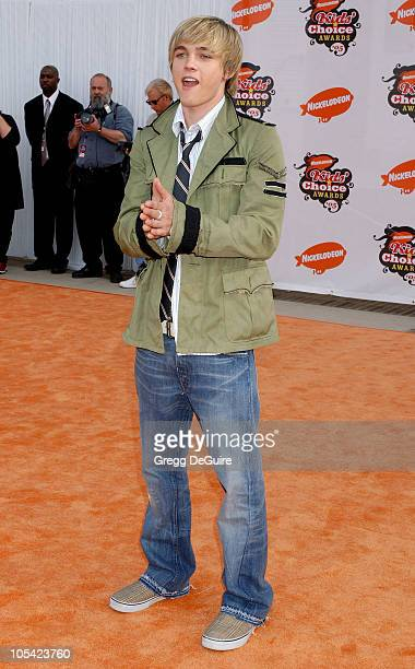 Jesse McCartney during Nickelodeon's 18th Annual Kids Choice Awards - Arrivals at UCLA Pauley Pavilion in Westwood, California, United States.