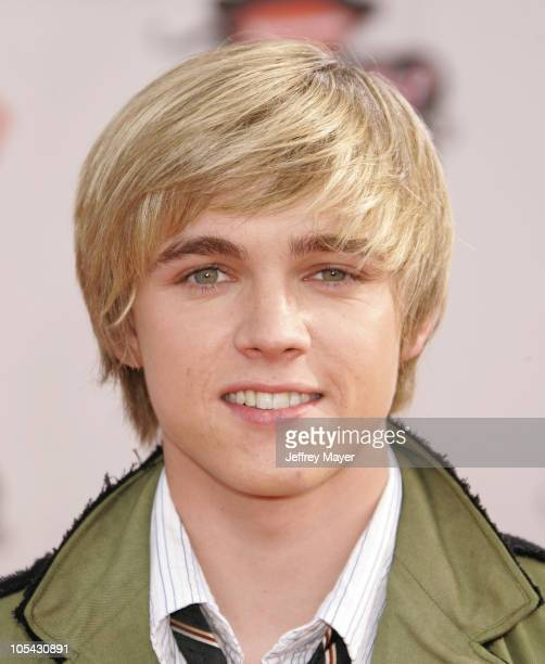 Jesse McCartney during Nickelodeon's 18th Annual Kids Choice Awards Arrivals at UCLA Pauley Pavilion in Westwood California United States