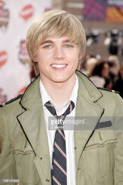 Jesse McCartney during Nickelodeon's 18th Annual Kids Choice Awards - Arrivals at Pauley Pavilion in Los Angeles, California, United States.