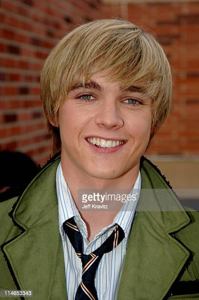 Jesse McCartney during Nickelodeon's 18th Annual Kids Choice Awards - Orange Carpet at Pauley Pavilion in Los Angeles, California, United States.