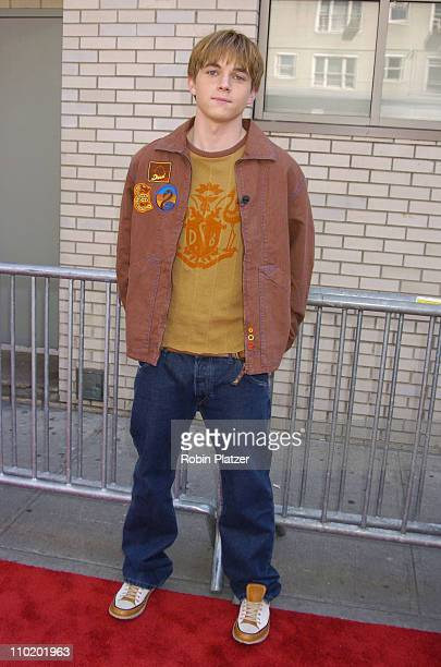 """Jesse McCartney during The Premiere of """"Ella Enchanted"""" at The Clearview Beekman theatre in New York City, New York, United States."""