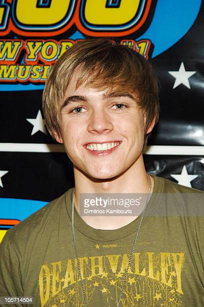Jesse McCartney during Z100's Zootopia 2005 Backstage at Continental Airlines Arena in East Rutherford New Jersey United States