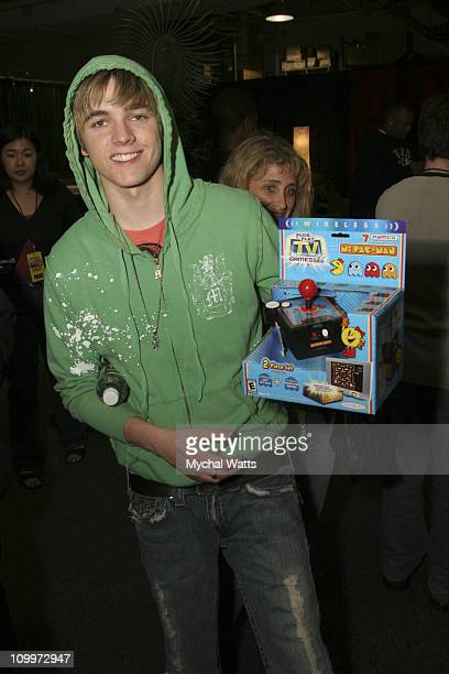 Jesse McCartney during Z100's Zootopia 2005 On 3 Productions Gift Lounge at Continental Airlines Arena in East Rutherford New Jersey United States