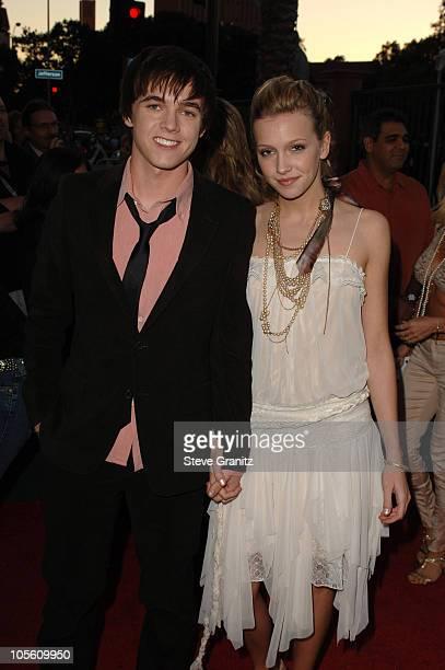 Jesse McCartney, nominee Favorite New Artist, and Katie Cassidy