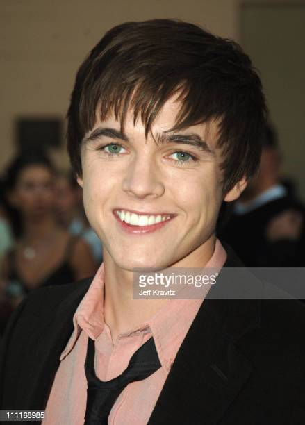 Jesse McCartney nominee Favorite New Artist during 33rd Annual American Music Awards Red Carpet at Shrine Auditorium in Los Angeles California United...