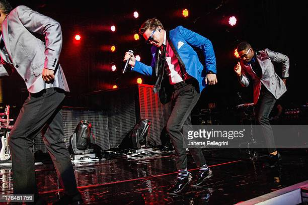 Jesse McCartney performs at Nikon at Jones Beach Theater on August 13 2013 in Wantagh New York