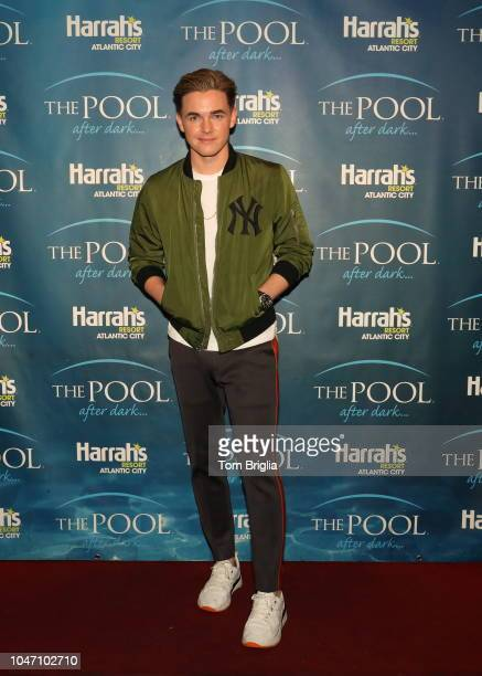 Jesse McCartney performs at The Pool After Dark at Harrah's Resort on Saturday September 29 2018 in Atlantic City New Jersey Photo Mike Manger...