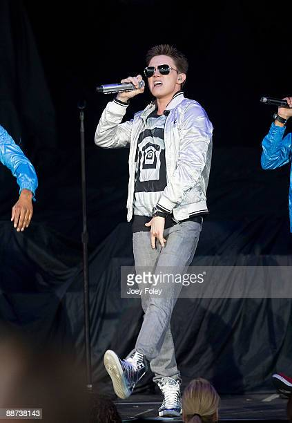 Jesse McCartney performs in concert at the Verizon Wireless Music Center on June 28 2009 in Noblesville Indiana