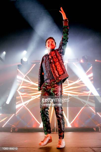 Jesse McCartney performs onstage at Marathon Music Works on January 15, 2019 in Nashville, Tennessee.