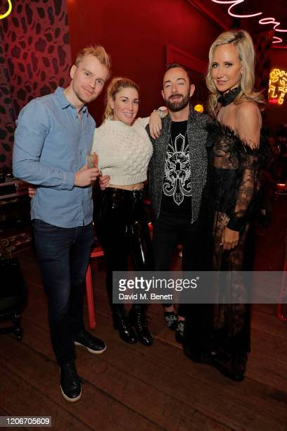 Jesse Meester Scott Henshall Hofit Golan Scott Henshall and Lady Victoria Hervey attend the launch of Lady Victoria Hervey and Scott Henshall's new...