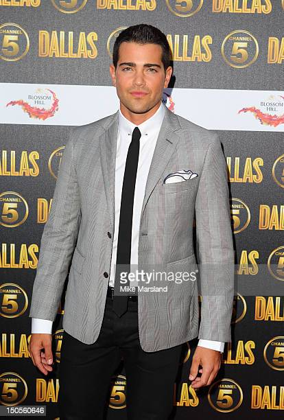 Jesse Metcalf attends a party to celebrate the new Channel 5 television series of 'Dallas' at Old Billingsgate on August 21 2012 in London United...