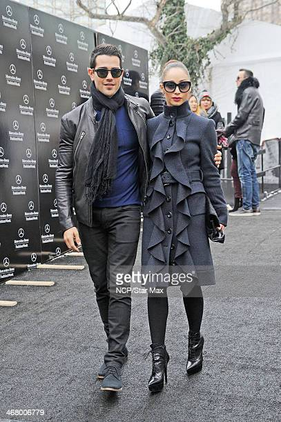 Jesse Metcalfe and Cara Santana are seen on February 8 2014 in New York City