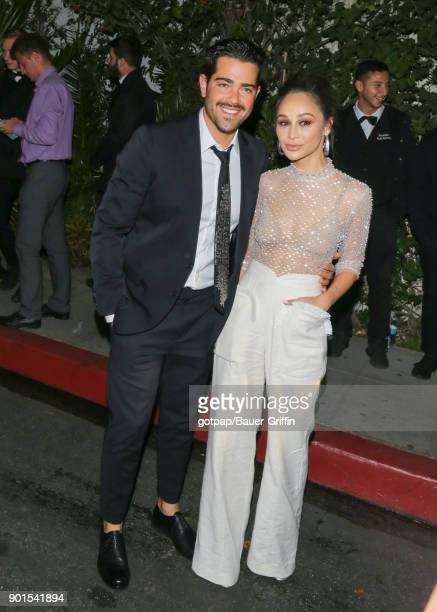 Jesse Metcalfe and Cara Santana are seen on January 04 2018 in Los Angeles California