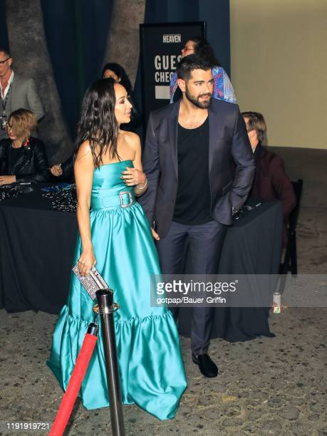 Jesse Metcalfe and Cara Santana are seen on January 04 2020 in Los Angeles California