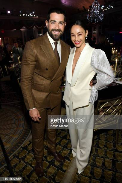 Jesse Metcalfe and Cara Santana attend the 14th Annual L'Oréal Paris Women Of Worth Awards at The Pierre on December 04 2019 in New York City