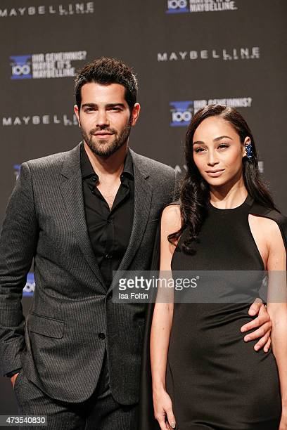 Jesse Metcalfe and Cara Santana attend the Maybelline 100th anniversary celebrations on May 15 2015 in Berlin Germany