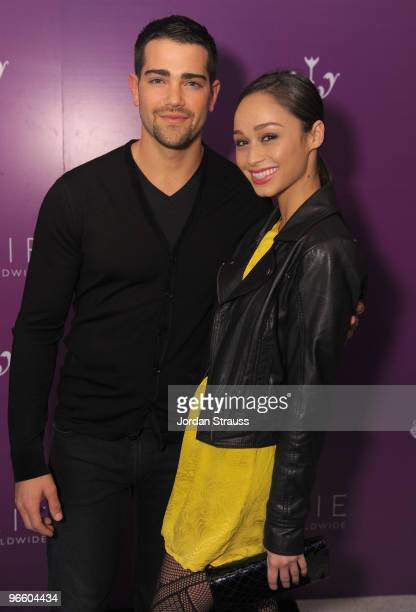 Jesse Metcalfe and Cara Santana attend the Pixie Press Launch And 'About Face' Book Release at The London Hotel on February 11 2010 in West Hollywood...