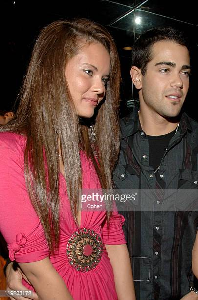 Jesse Metcalfe and guest during Diesel Presents Young Hollywood Awards Countdown March 30 2006 at Liberace's Penthouse in Los Angeles California...
