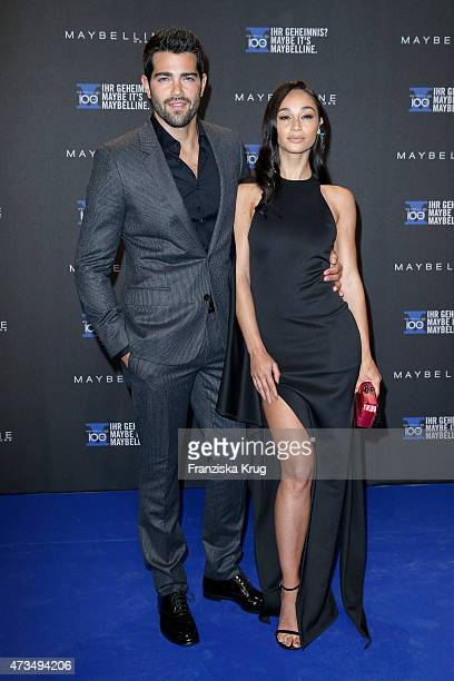 Jesse Metcalfe and his wife Cara Santana attend the Maybelline 100th anniversary celebrations on May 15 2015 in Berlin Germany