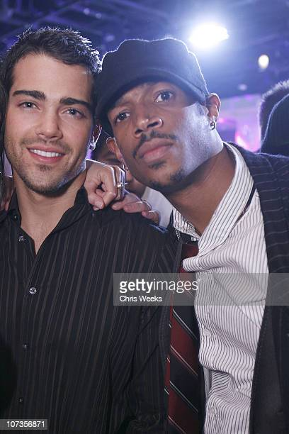 Jesse Metcalfe and Marlon Wayans during PURE Nightclub's New Year's Eve 2007 Celebration Hosted by Britney Spears Inside at Pure Nightclub in Las...