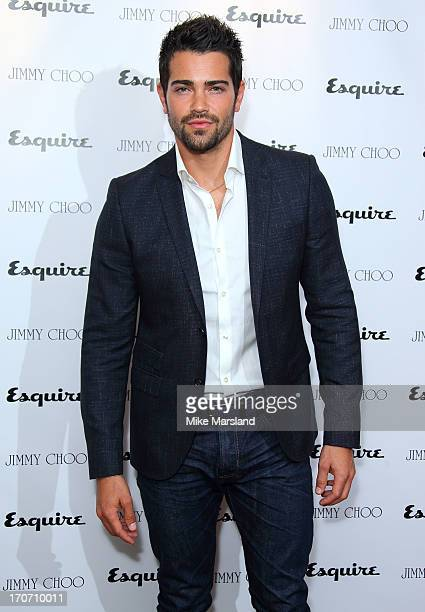 Jesse Metcalfe attends a party hosted by Jimmy Choo & Esquire during the London Collections SS14 on June 16, 2013 in London, England.