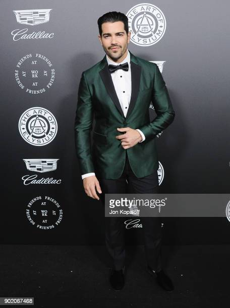 Jesse Metcalfe attends The Art Of Elysium's 11th Annual Celebration Heaven at Barker Hangar on January 6 2018 in Santa Monica California