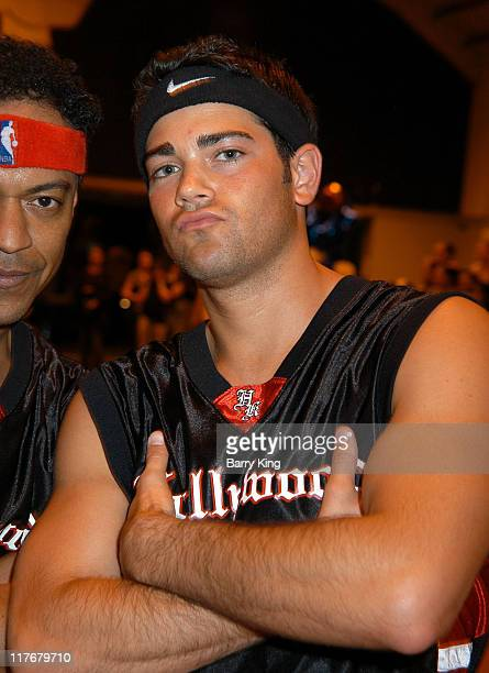 Jesse Metcalfe during Hollywood Knights Charity Basketball Game Burbank at Burbank High School in Burbank California United States