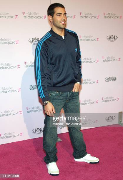 Jesse Metcalfe during T-Mobile Limited Edition Sidekick II Launch - Arrivals at T-Mobile Sidekick II City in Los Angeles, California, United States.