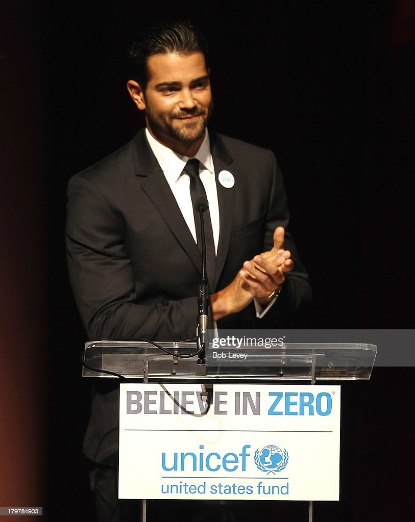 Jesse Metcalfe emcees The UNICEF Audrey Hepburn Society Ball honoring Margaret Alkek Williams at the Wortham Center Brown Theater on September 6, 2013 in Houston, Texas.