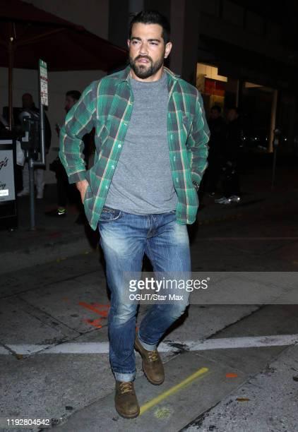 Jesse Metcalfe is seen on January 10 2020 in Los Angeles California