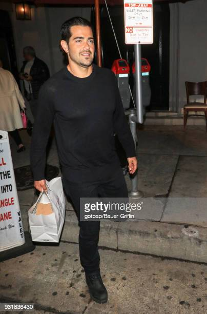 Jesse Metcalfe is seen on March 13 2018 in Los Angeles California