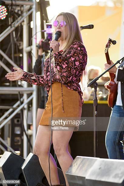 Jesse Money performs on stage at Malibu Guitar Festival at Malibu Village on April 30 2016 in Malibu California
