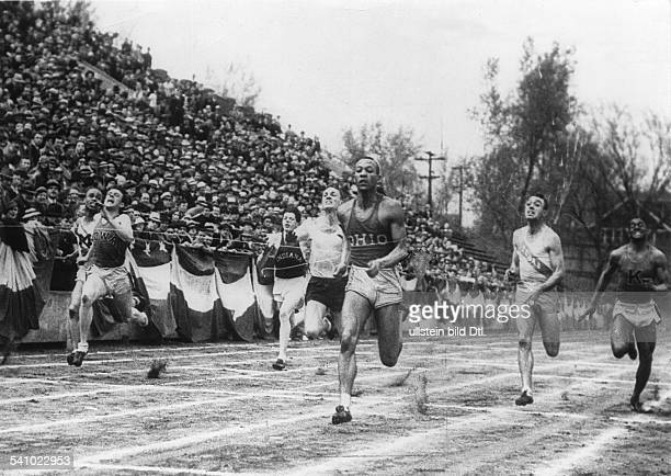 Jesse Owens *USAmerican track and field athletewon 4 gold medals at the Summer Olympics in Berlin in 1936setting up five world records at the Olympic...