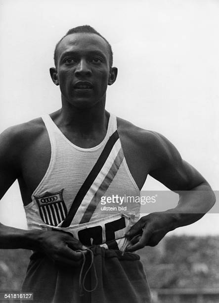 Jesse Owens *USAmerican track and field athletewon 4 gold medals at the Summer Olympics in Berlin in 1936Olympic Summer Games in Berlin in 1936 Owens...