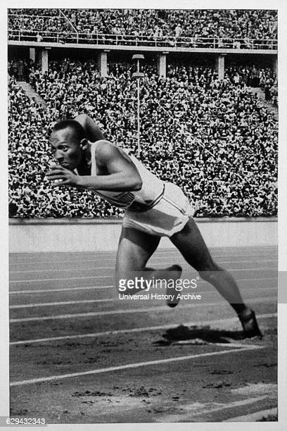 Jesse Owens Track Star 1936 Olympic Summer Games Berlin Germany