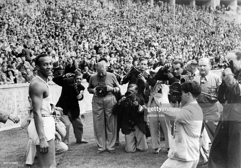 Jesse Owens : News Photo