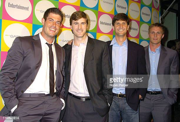 Jesse Palmer and Giants during The Entertainment Weekly 'Must List' Party Arrivals at Deep in New York City New York United States