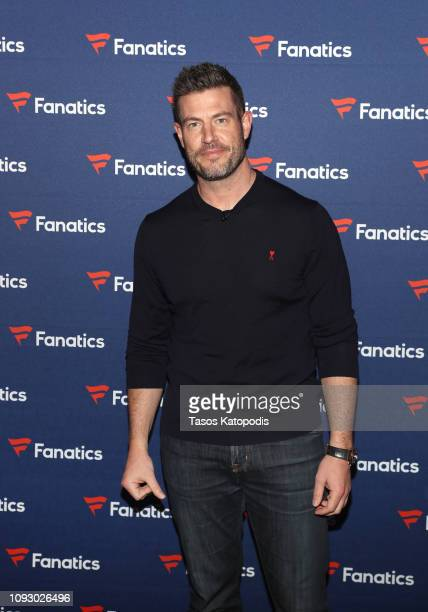 Jesse Palmer arrives at the Fanatics Super Bowl Party at College Football Hall of Fame on January 5 2019 in Atlanta Georgia