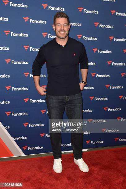 Jesse Palmer arrives to Michael Rubin's Fanatics Super Bowl Party at the College Football Hall of Fame on February 2 2019 in Atlanta Georgia