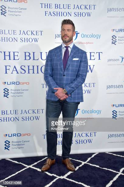 Jesse Palmer attends The Blue Jacket Fashion Show during NYFW at Pier 59 Studios on February 05 2020 in New York City